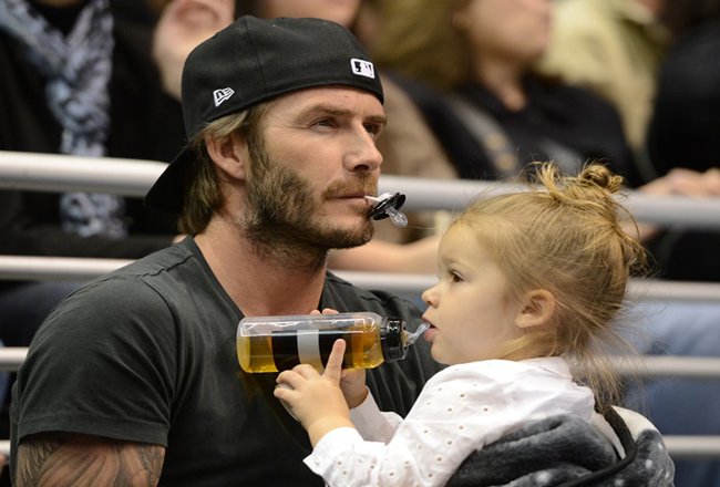 David Beckham Is Superdad, Defends Daughter Against Tabloids