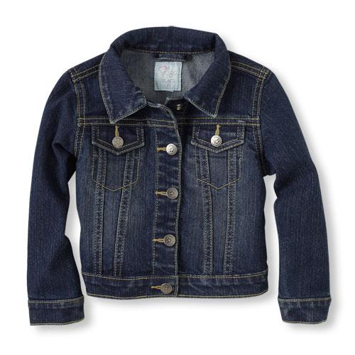 childrens place denim jacket