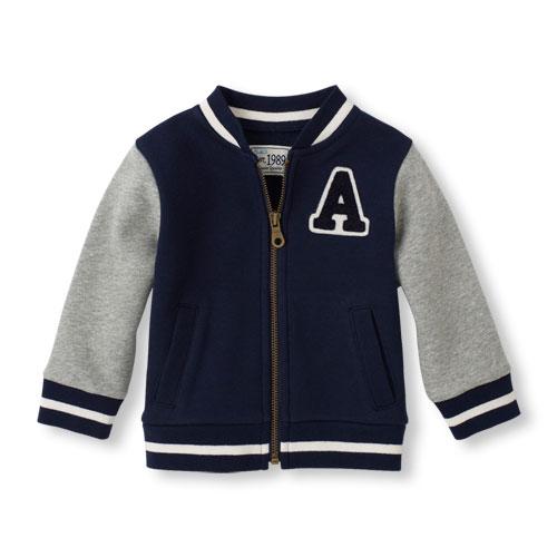 childrens place varsity jacket