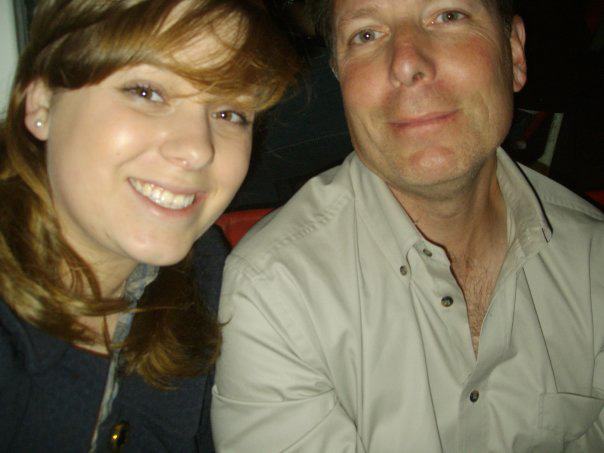 My Dad and I circa 2009 in Paris