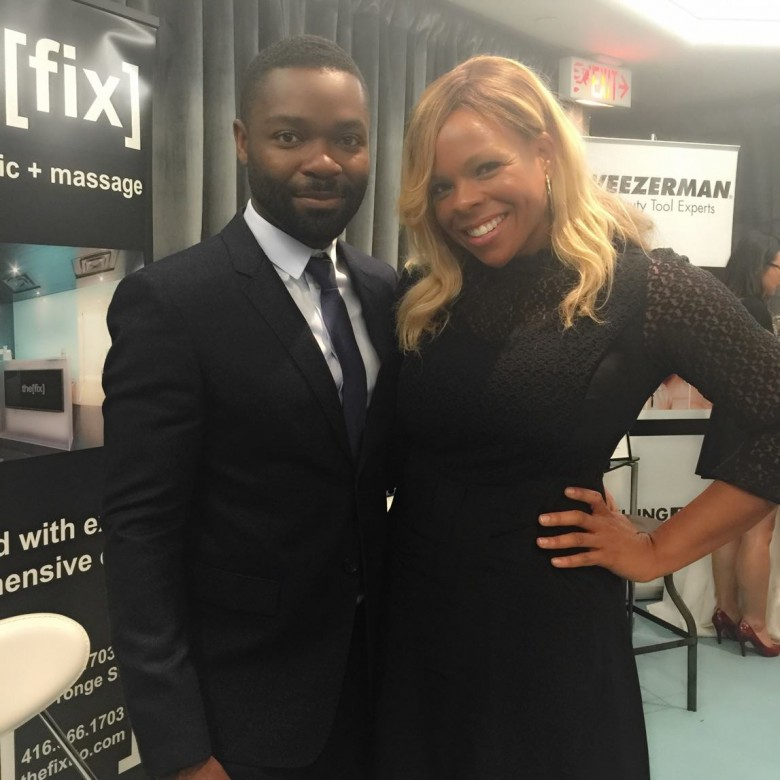 Dr. Liza of The Fix with actor David Oyelowo