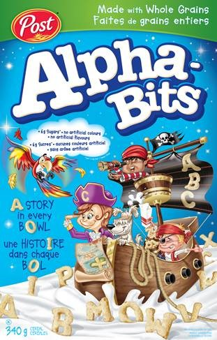 Alpha-Bits - Packaging #1