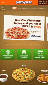 Pizza Pizza App