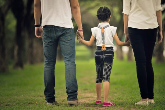 The Delicate Dance Of Co-Parenting The First Day Of School