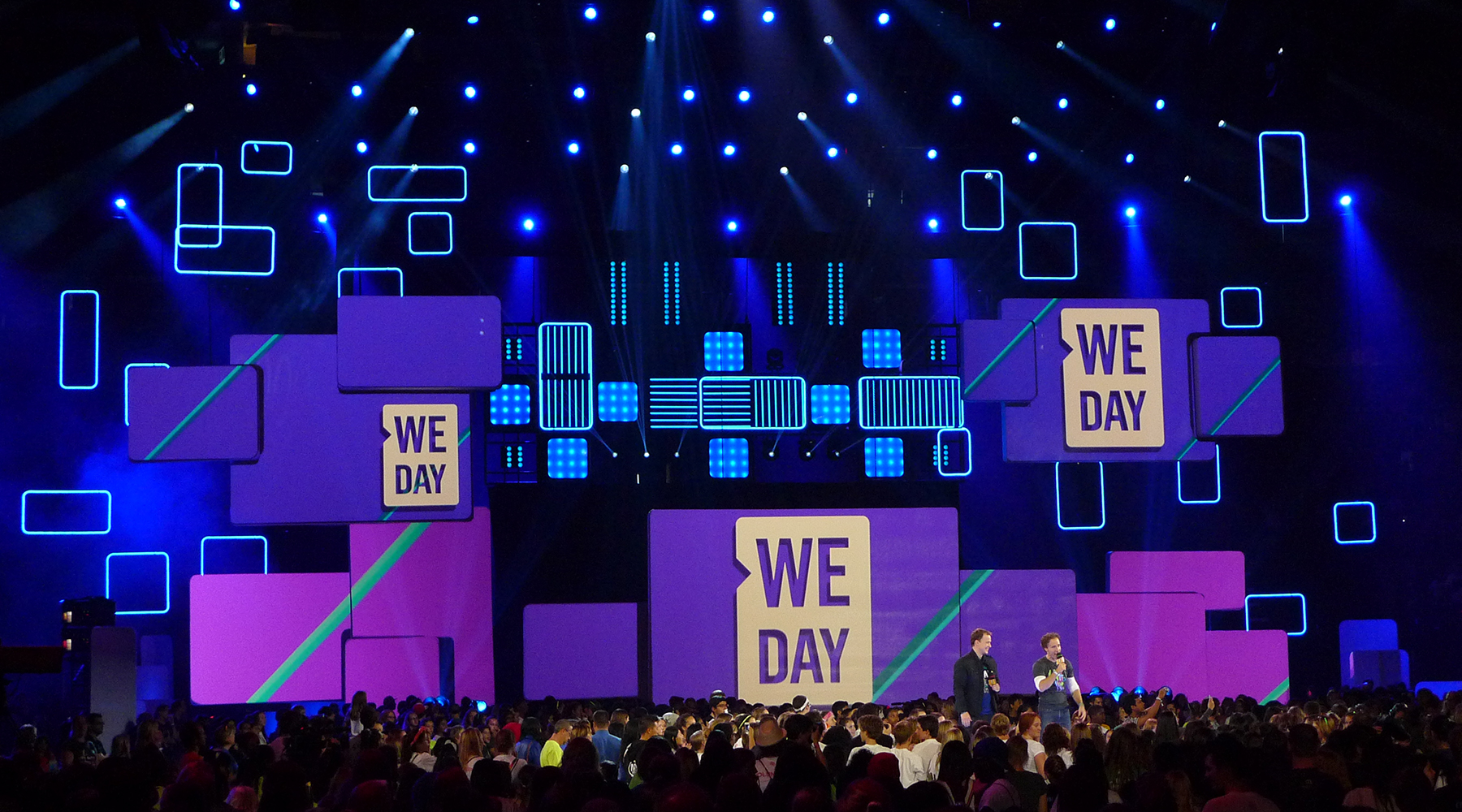 The Countdown To This Year's WE DAY Is On!