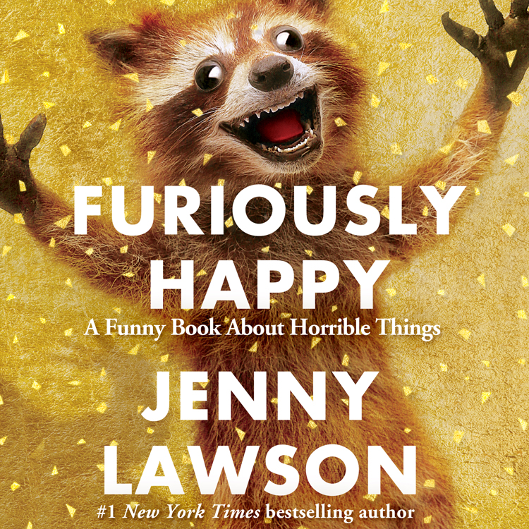 book review furiously happy by jenny lawson urbanmoms