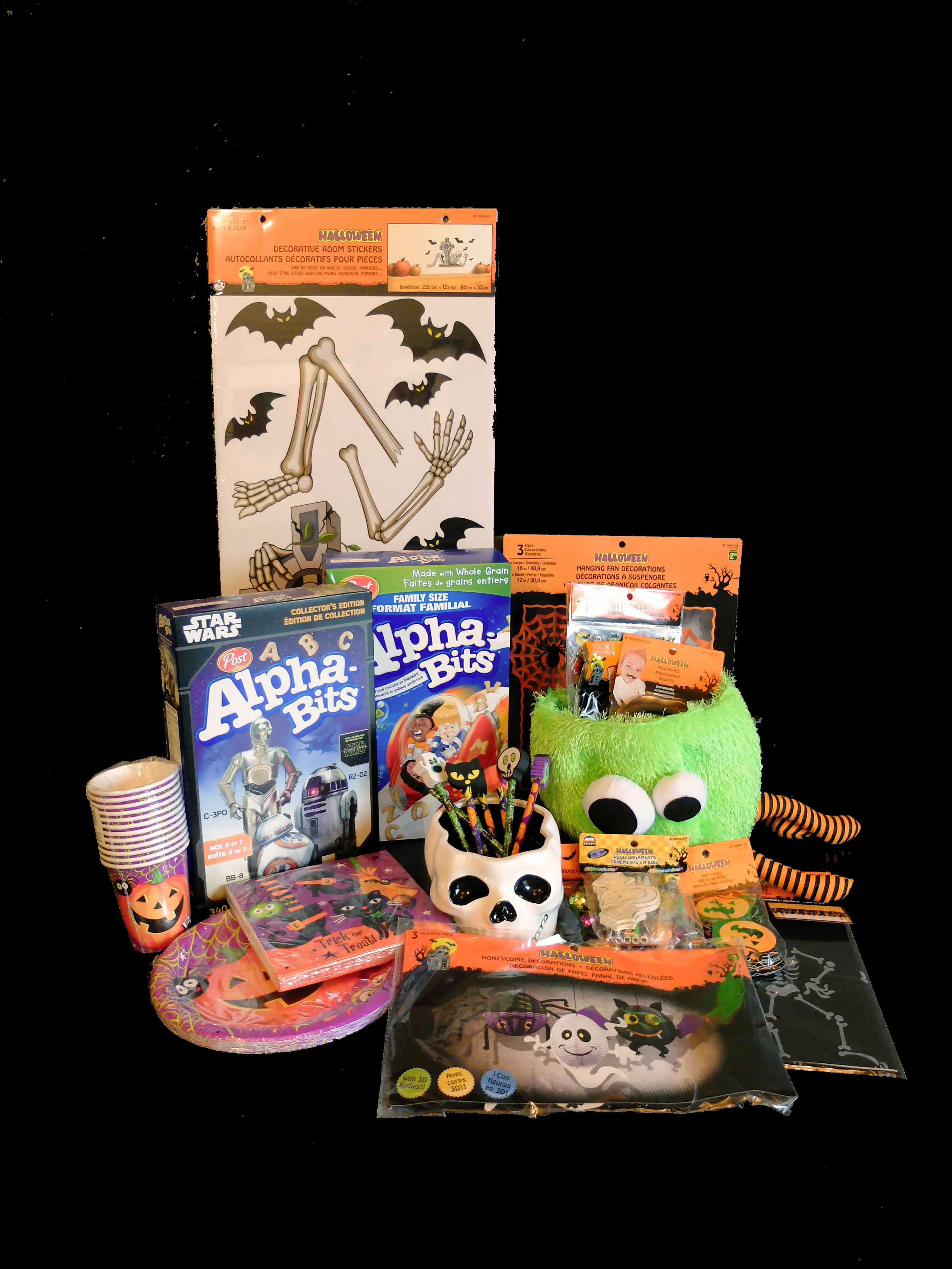 Enter The Alpha-Bits Halloween Fun Contest