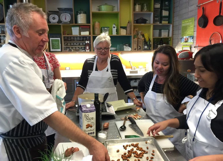 Chef Brad Long, Cafe Belong. So Nice.