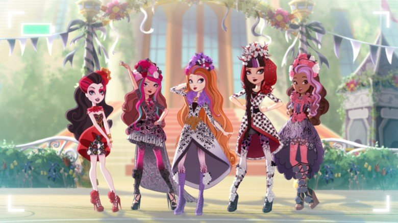 Ever After High. Photo courtesy of Netflix