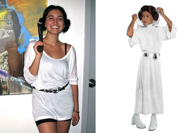 princessleia  sc 1 st  UrbanMoms & A Very Teen Halloween: Handmade Vs Store Bought Costumes - UrbanMoms