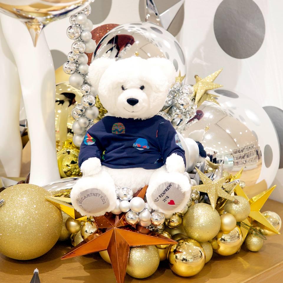 Holt Renfrew Holiday Bear 2015