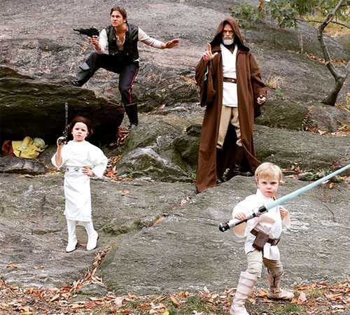 A Family Affair: The Best Celeb Family Halloween Costumes