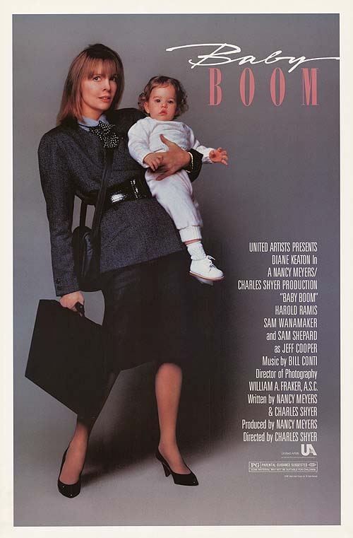 working moms, diane keaton, baby boom, working moms in movies