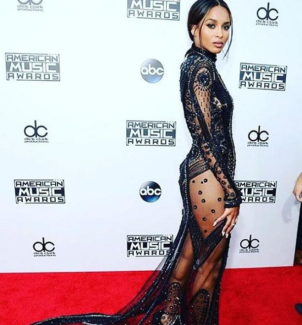 ciara, ama, american music awards, celebrity moms