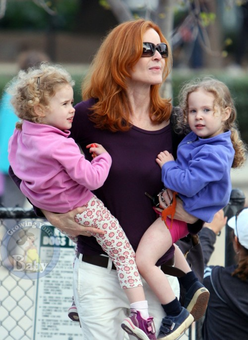 marcia cross, parenting advice, celebrity parents