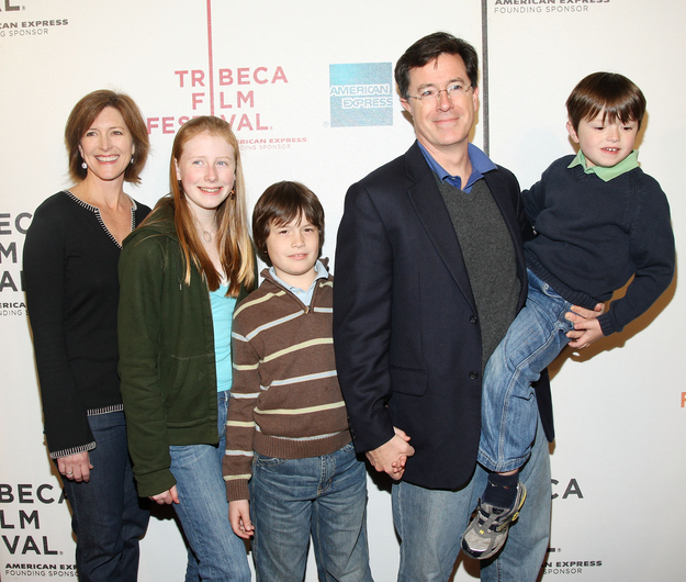 stephen colbert, parenting advice, celebrity parents