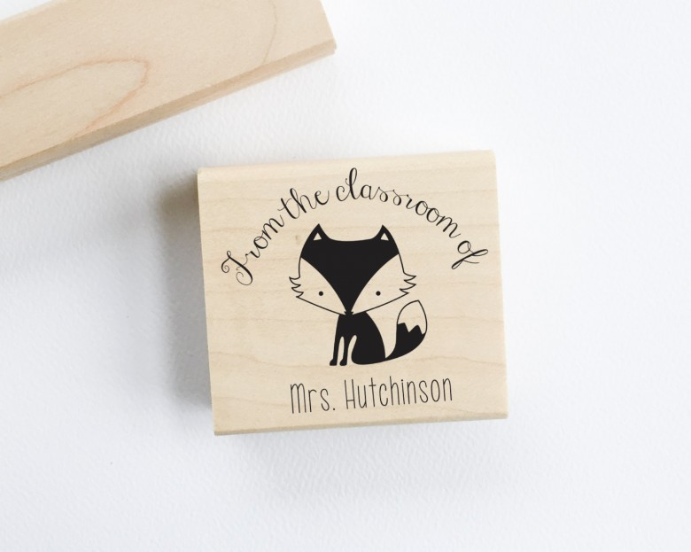 personalized stamp, teacher gifts, holiday teacher gifts, gifts for your teacher,