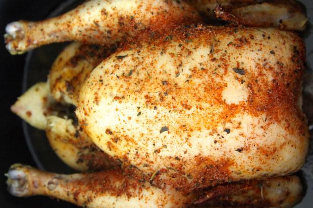 herbed chicken, slow cooker chicken, crock pot recipes
