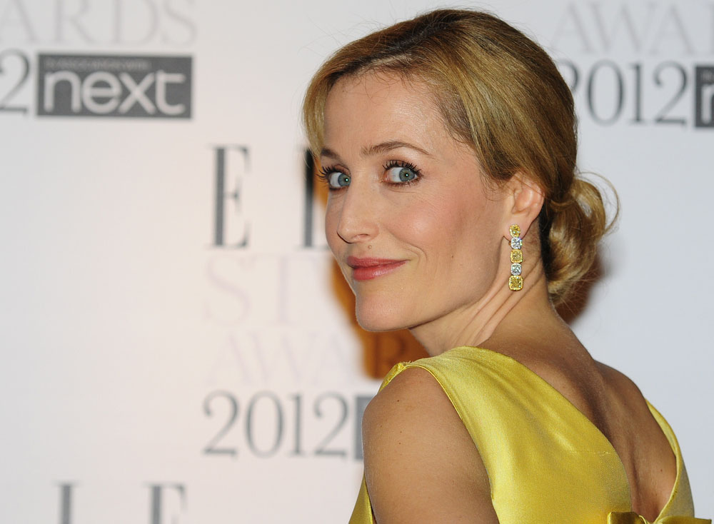 Gillian Anderson, actress, The X-Files, mother, parent