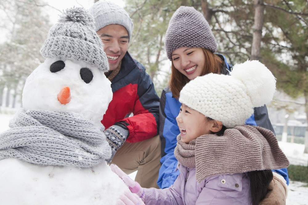 Get Your Family Outside And Enjoy The Snow This Winter