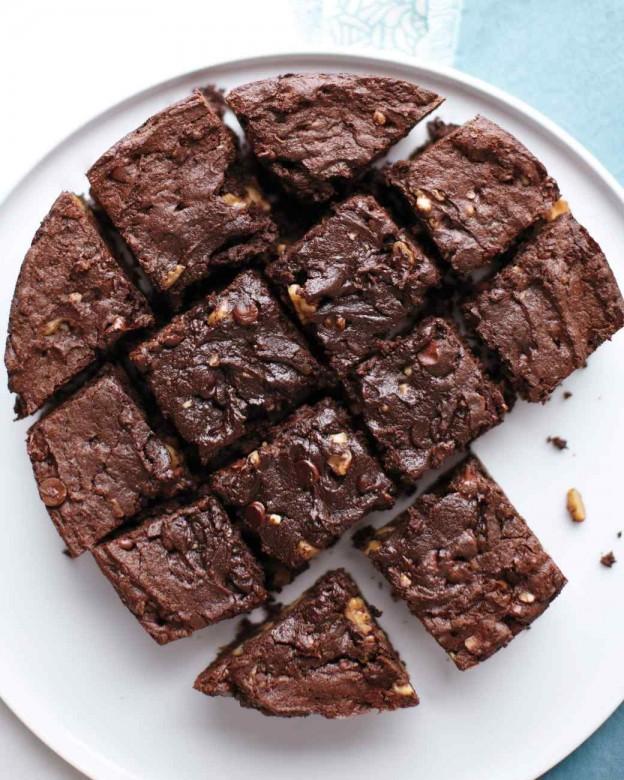 slow cooker recipes, desserts, brownies, crock-pot