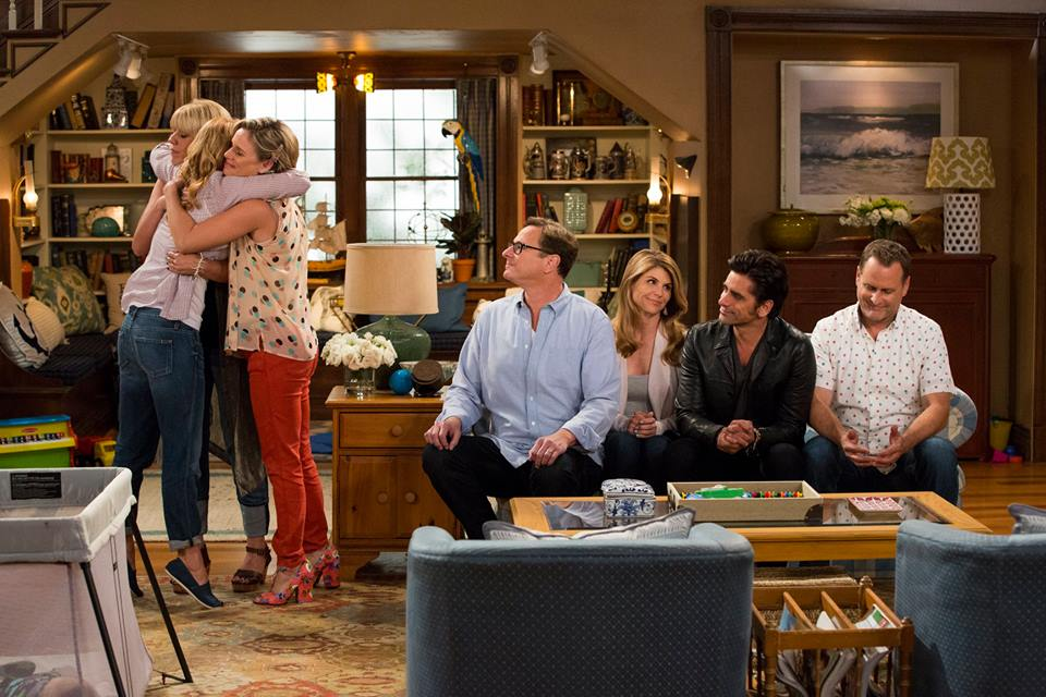 The Cast of Fuller House Opens Up About Family Time
