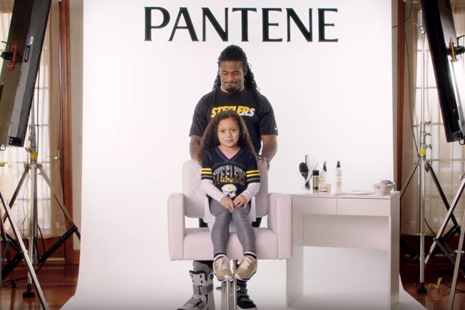 NFL Stars Show Off Their Hair Styling Skills On Their Daughters