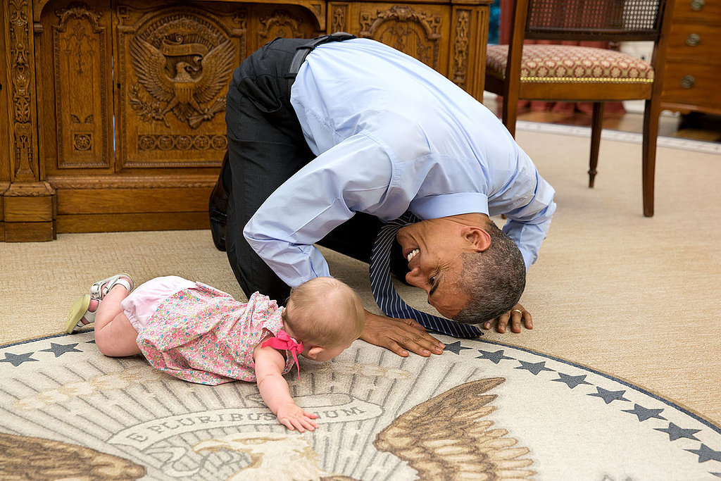 #ObamaAndKids Is Our Kind Of Politics