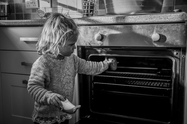 autism, girl, playing, Glenn Gameson-Burrows, photography, black and white, autism spectrum disorder,