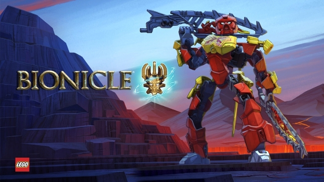LEGO Bionicle on Netflix