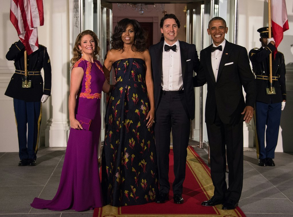Sophie Grégoire-Trudeau Stuns At The State Dinner