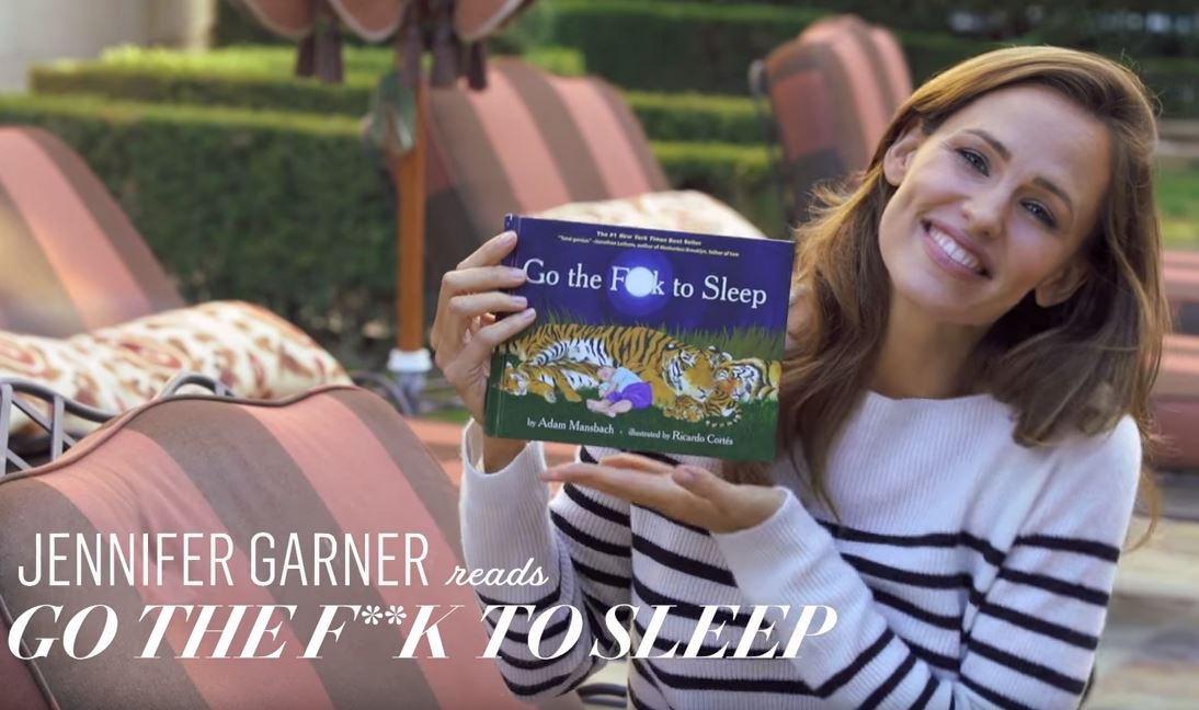 "Jennifer Garner Is Every Mom Reading ""Go The F*ck To Sleep"""