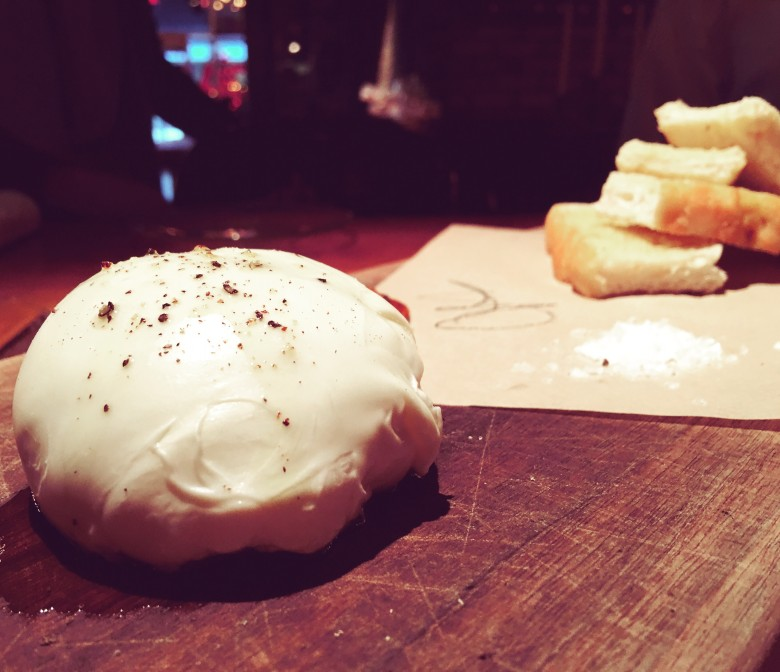 Mozzarella at Scaddabush. Photo credit; Sonya Davidson