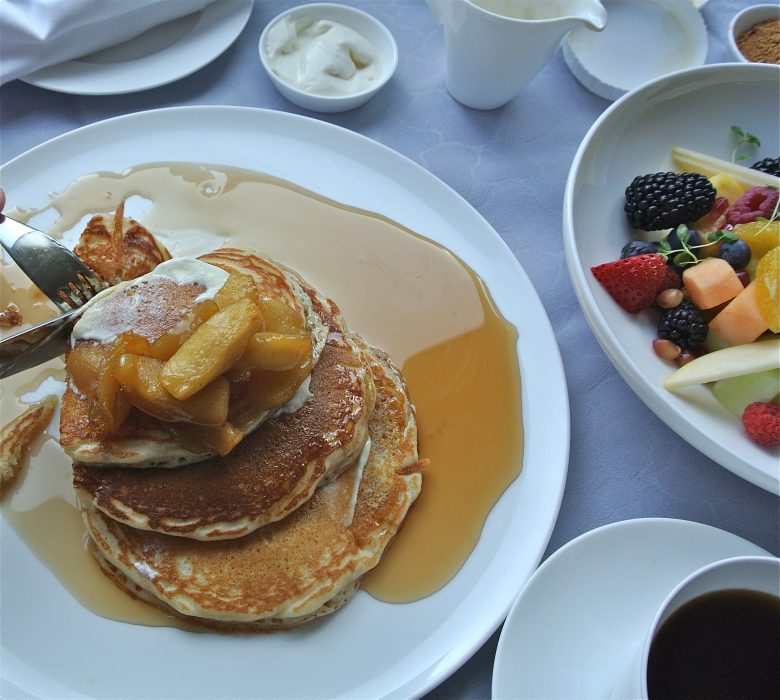 Someone told me that I MUST have the pancakes. So glad I did!