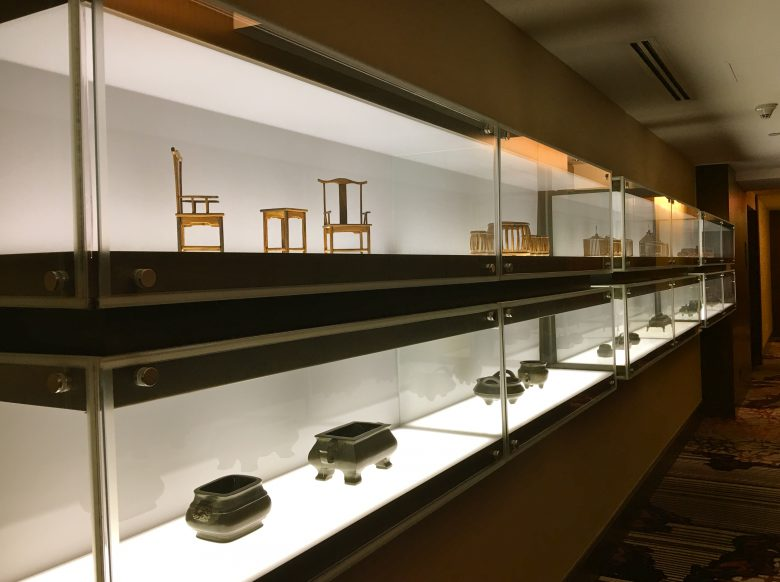 Along the hallways are beautiful museum pieces worth exploring.