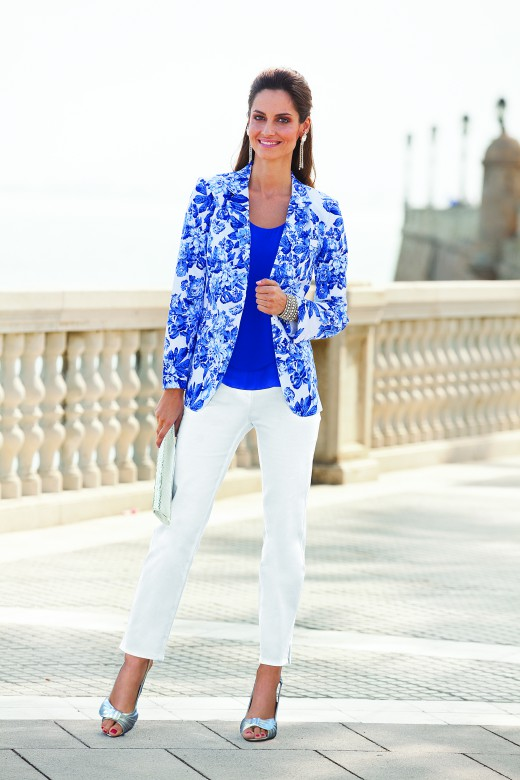 Together Floral Printed Blazer $199.99 & Together Stretch Pant $79.99