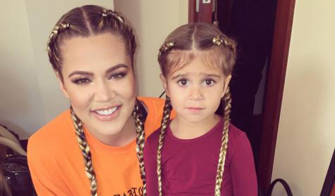 North West And Penelope Disick Get Braids For Days