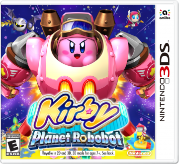 N3DS Kirby Planet Robobot Box Art