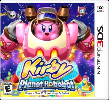N3DS Kirby Planet Robobot Box Art