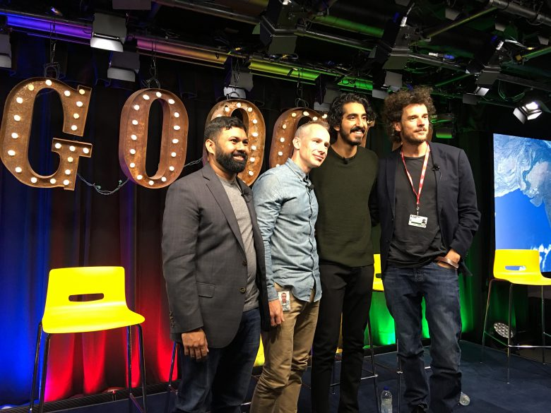 Dev Patel, Garth Davis at Google Canada. Photo credit: Sonya Davidson