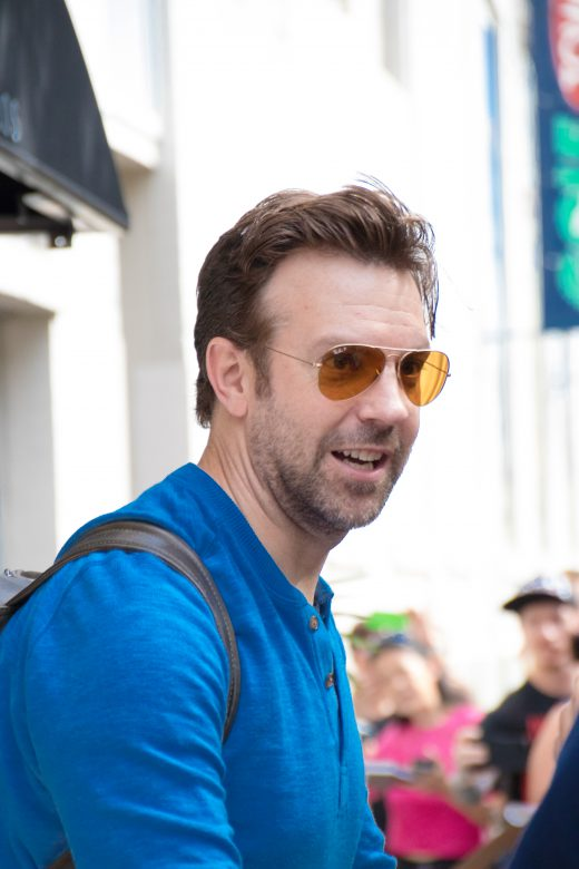 Jason Sudeikis at Storys. Photo credit: Troy Tobey