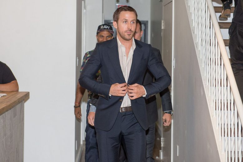 Ryan Gosling at Deadline Studios. Photo courtesy of Charming Media Inc.