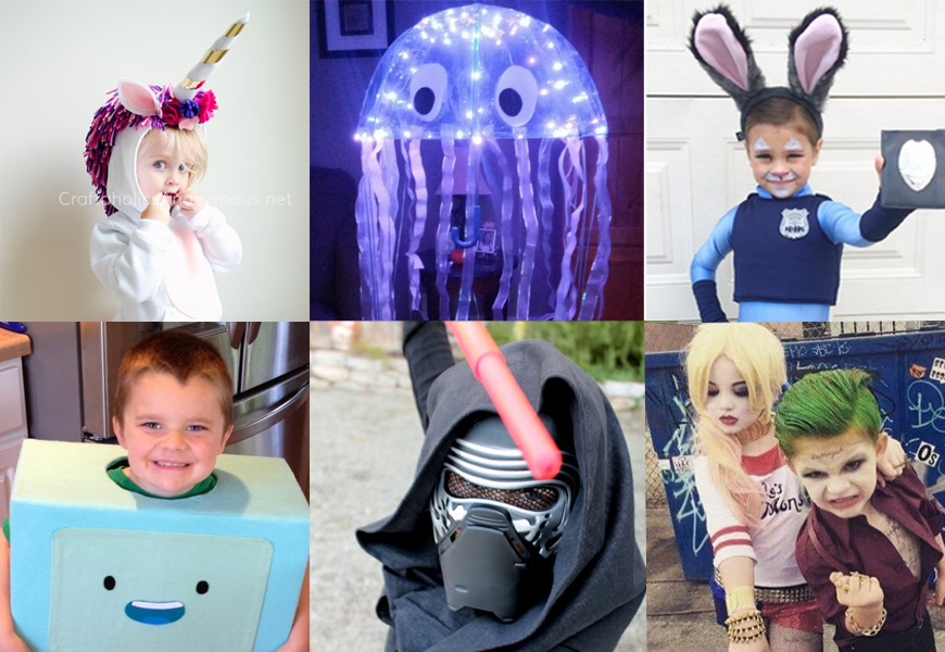 Six DIY Halloween Costume Ideas For Kids
