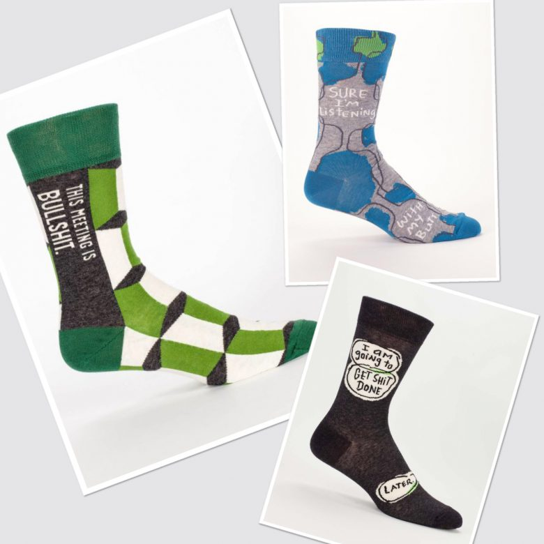 Men's socks by BlueQ
