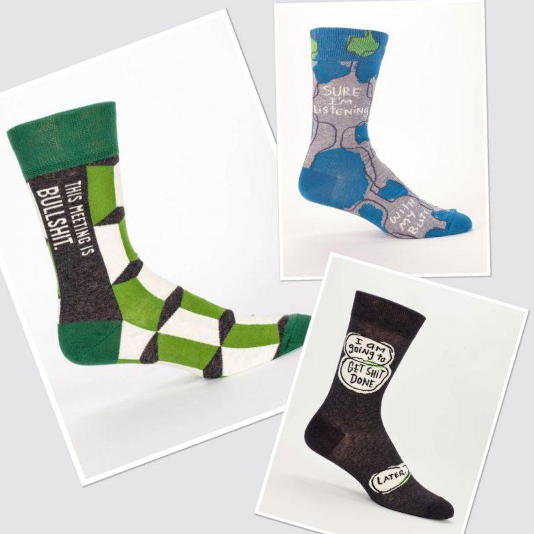Men's socks by BlueQ