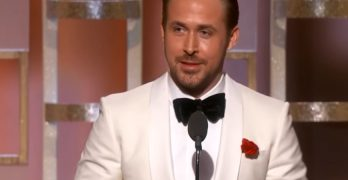 Ryan Gosling's Golden Globes Speech Is Proof That Working Moms Can't Have It All