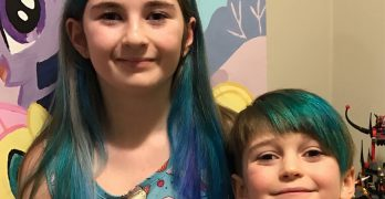 I'm Giving My Kids Autonomy By Letting Them Dye Their Hair