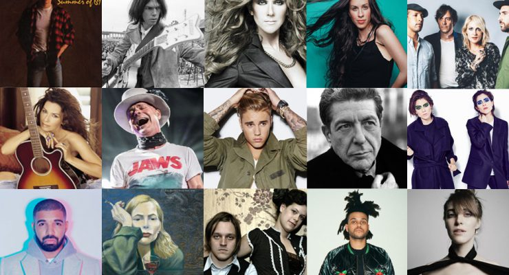 The Ultimate Canada 150 Playlist: Rock Out This July 1