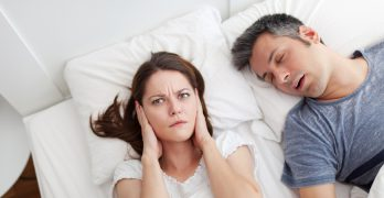 My Husband's Snoring Wasn't Just Annoying—It Was A Health Risk