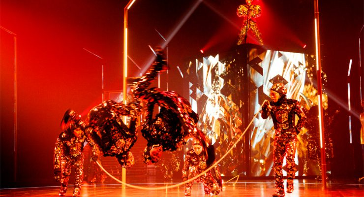 Cirque Du Soleil's Volta Brings A Modern Twist To The Big Top